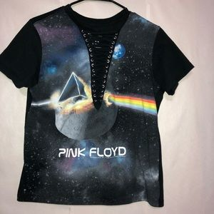Pink Floyd Lace Up Shirt